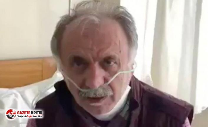 Koronavirüs tedavisi gören Profesör Taşcıoğlu'nun...