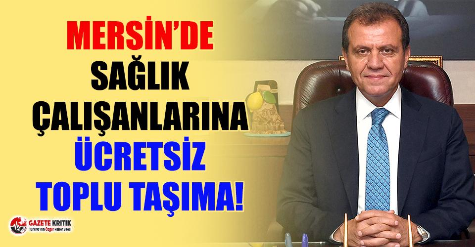 Mersin Büyükşehir Belediyesi'nden anlamlı...