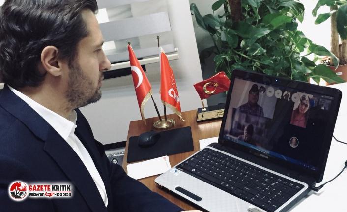CHP İzmir İl Başkanı Yücel'den Koronavirüsle Mücadele Toplantısı