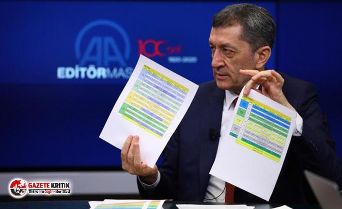 Milli Eğitim Bakanı Ziya Selçuk: Bütün ekip hazır,...