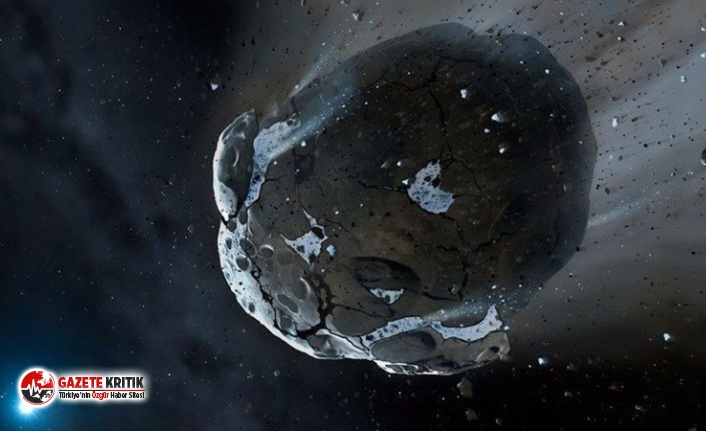 NASA'dan göktaşı açıklaması: Çapı 4 kilometre,dünyaya en yakın konuma gelecek