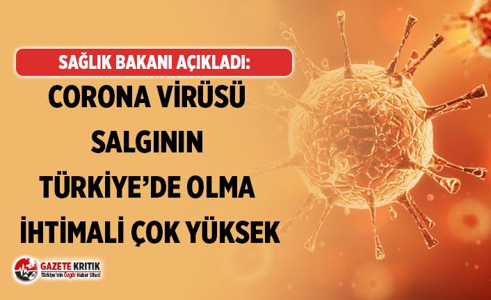 Sağlık Bakanı:Koronavirüs salgınının şu an...