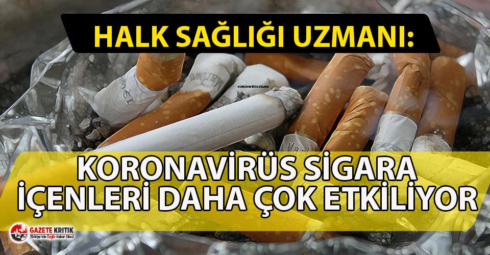 Sigara içenler dikkat! Koronavirüs sigara içenleri...