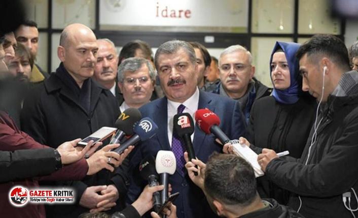 Süleyman Soylu ile Fahrettin Koca'nın açıklamaları...