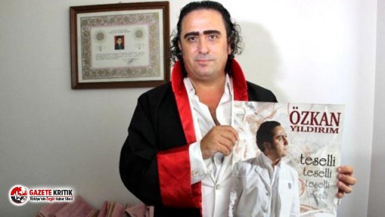 Türkücü olmak için hakimliği bırakan Özkan Yıldırım, koronavirüs için şarkı yaptı