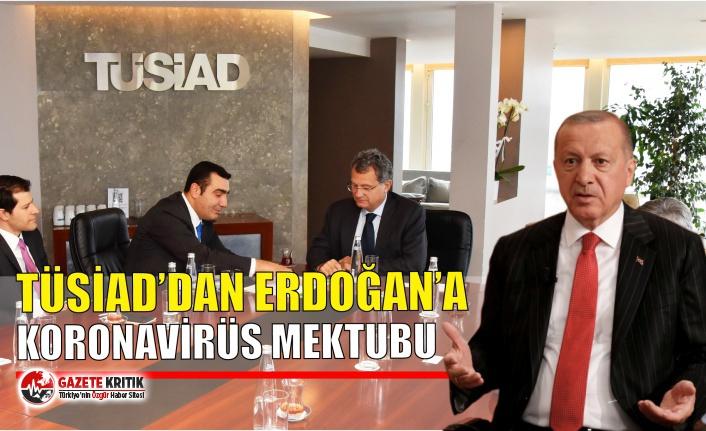 TÜSİAD'dan Erdoğan'a koronavirüs mektubu
