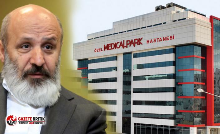 Yandaş Ethem Sancak'ın hastanesinde corona...