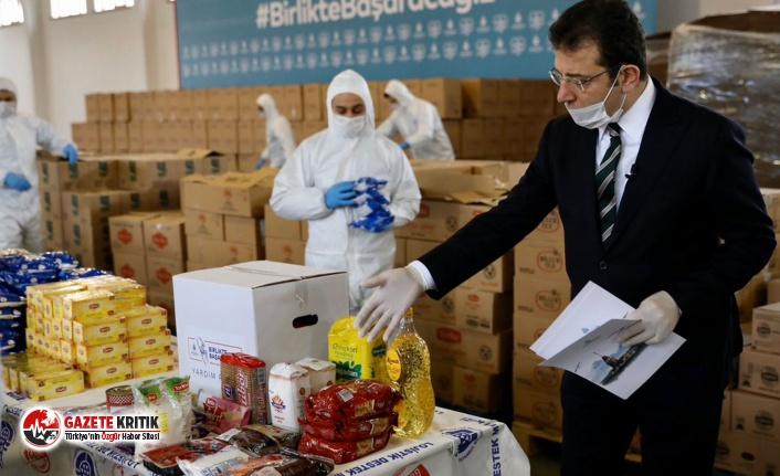 500 Bin Koli Yardım Paketi İhtiyaç Sahiplerine...