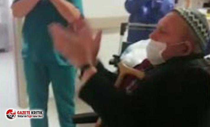 84 yaşındaki koronavirüs hastası taburcu oldu
