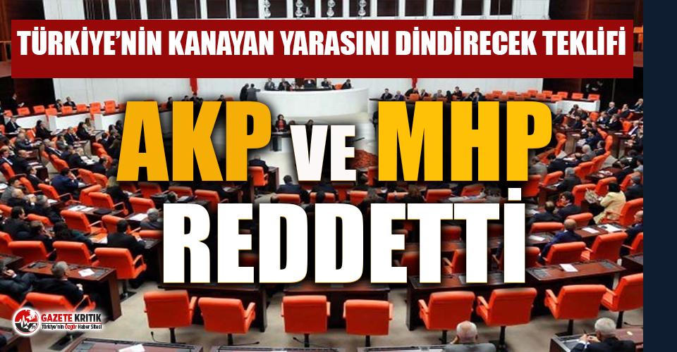 AKP ve MHP'den sağlıkta şiddet yasa teklifine...