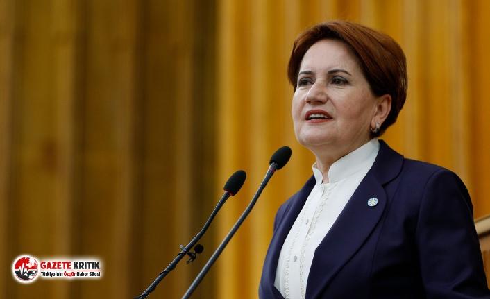 Akşener: 'Aynı olgunluğu Damat'tan ve Tarım Bakanı'ndan da bekliyorum'