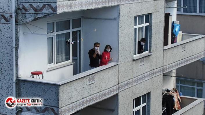 Bağcılar'da karantina apartmanında 16 kişiden 10'unda Corona Virüs çıktı
