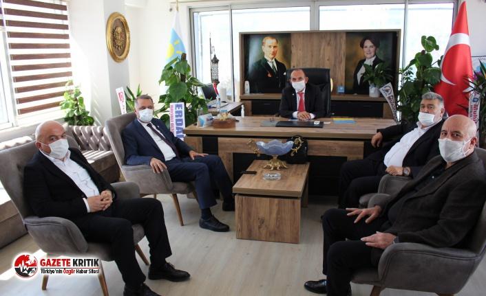 Başkan Bayar'dan İYİ Parti'ye Ziyaret