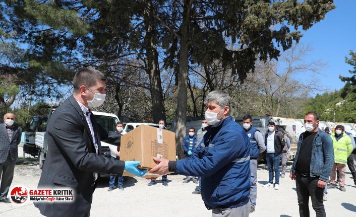 Başkan Ercengiz'den Taşeron Personele Gıda...