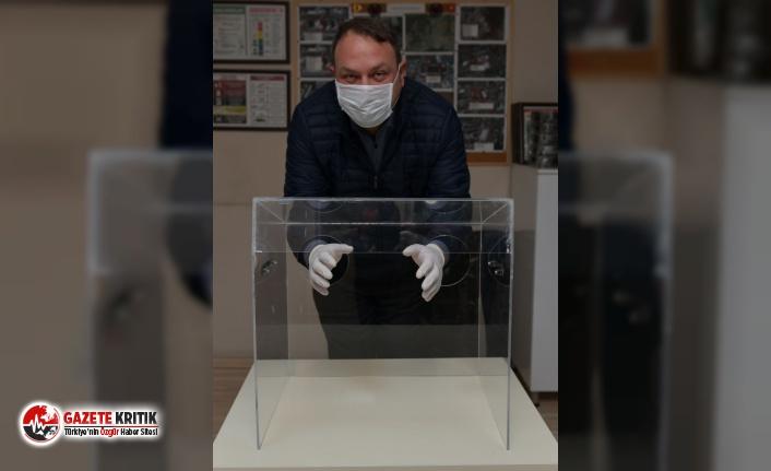 """Başkan Gümrükçü'den Bir İlk Daha: """"Entübe Kutusu"""" üretimine başlandı"""