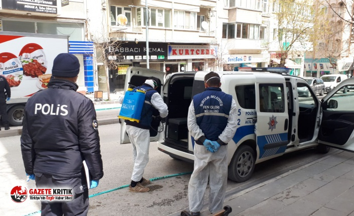 Burdur Belediyesi Dezenfekte Çalışmalarında 4'üncü...