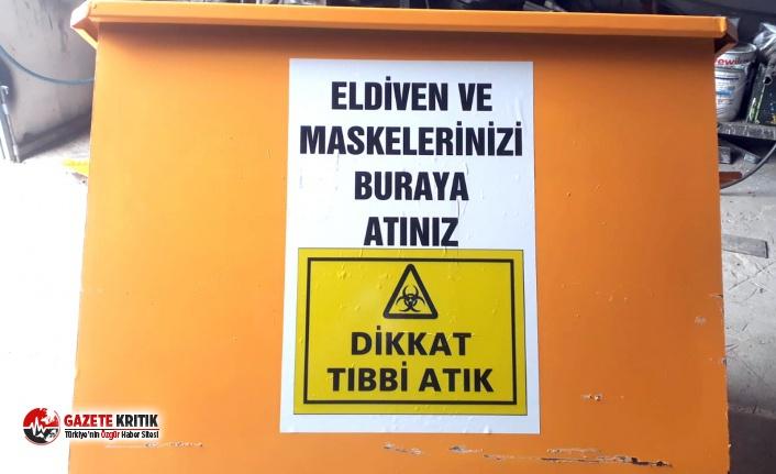 Burdur Belediyesinden Pazarlara tıbbi atık Konteyneri