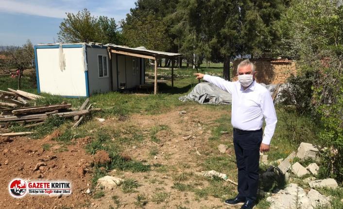 CHP'den Acıpayam depremzedelerine maske, erzak...
