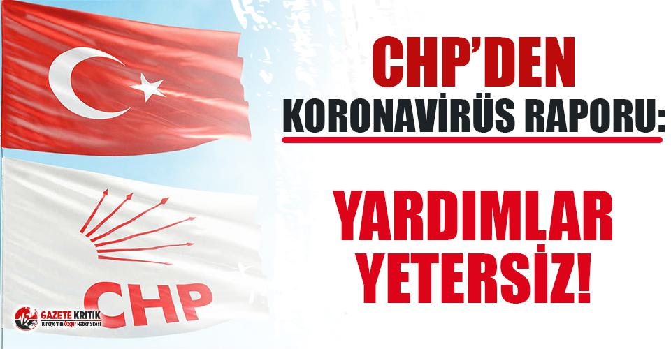 CHP'den karantina raporu: Yardımlar yetersiz