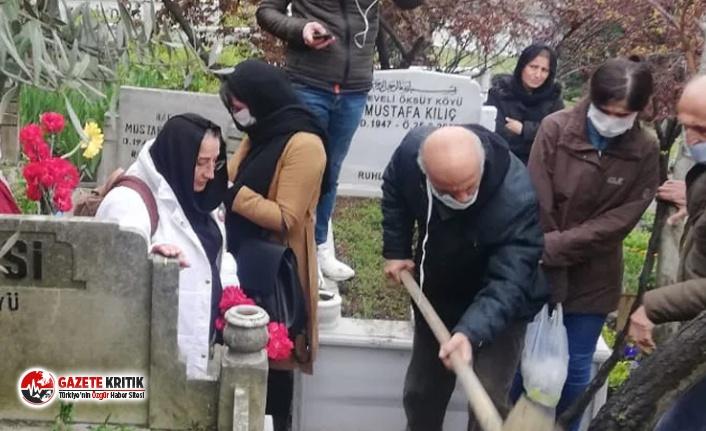 Grup Yorum üyesi Helin Bölek'in cenaze törenine...