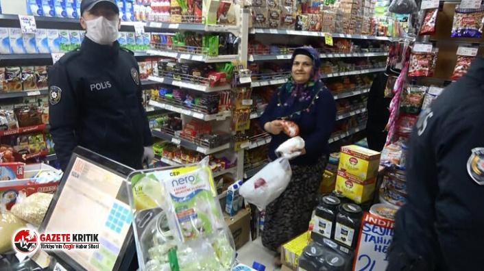 İstanbul'da yasağa rağmen açık markete baskın
