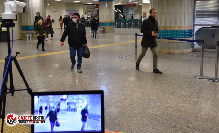 İstanbul'da metrolara termal kamera yerleştirildi