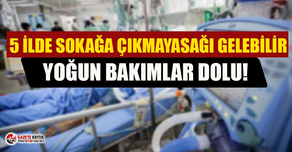 'İstanbul'da yoğun bakımlar dolu! 5 ilde...
