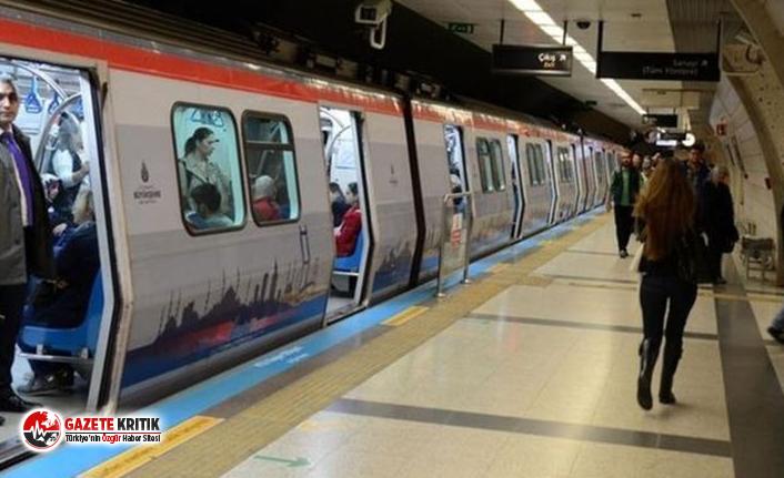 İstanbullular dikkat! Metro seferlerinde değişiklik!