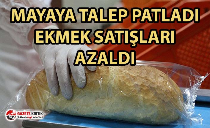 Mayaya talep patladı, ekmek satışları yüzde 35 azaldı