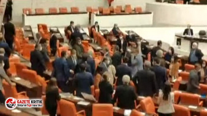 Son Dakika! Meclis'te MHP ve HDP'li vekiller arasında gerginlik çıktı