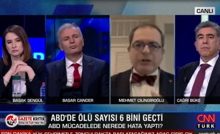 Mehmet Çilingiroğlu canlı yayında kovulduğunu...