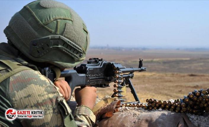 MSB duyurdu! Saldırı hazırlığındaki 14 PKK'lı...