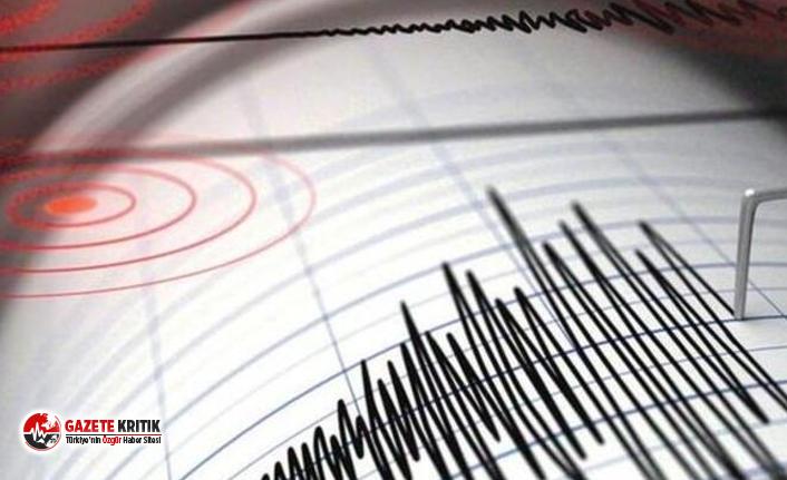 Ordu'da 4.0 büyüklüğünde deprem!