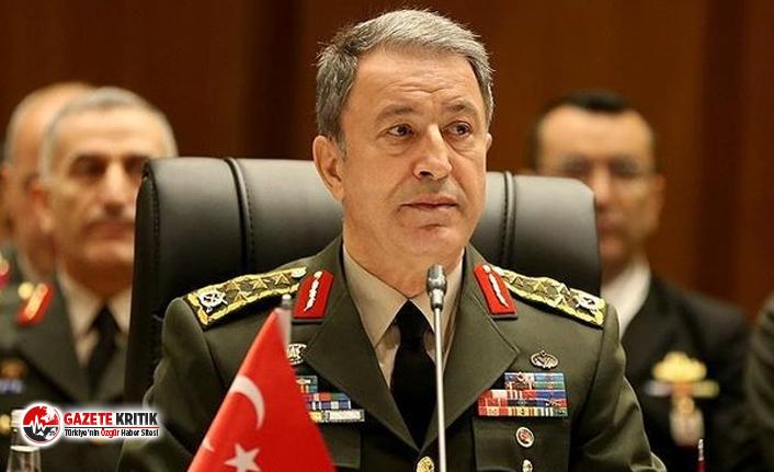 Savunma Bakanı Akar, İran Genelkurmay Başkanı ile telefonda görüştü