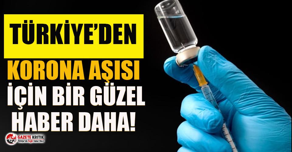 Türkiye'den koronavirüs aşısı için bir...