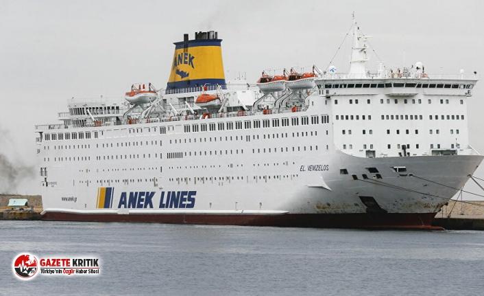 Yunanistan'da karantinaya alınan gemideki 65...