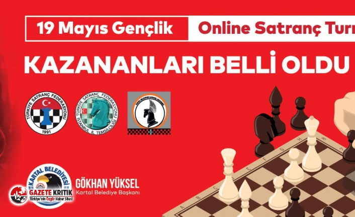 19 Mayıs Online Satranç Turnuvası'nın Kazananları...