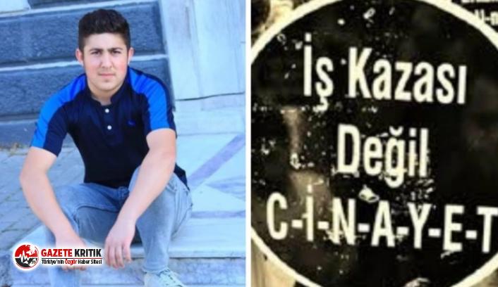 19 yaşındaki inşaat işçisi iskeleden düşerek hayatını kaybetti