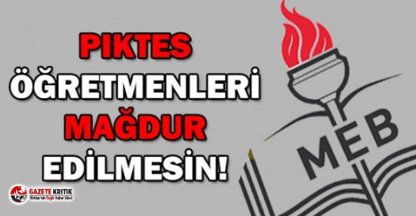 Adana Milletvekili Ayhan Barut:Mağdur 4 bin PIKTES öğretmeni kadro bekliyor