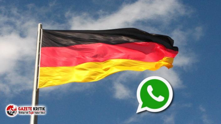Alman federal yetkililerden uyarı...Whatsapp kullanmayın!