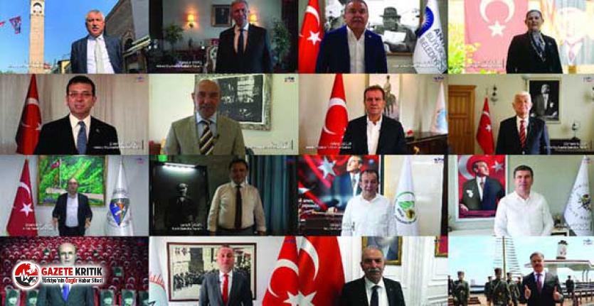 Belediye başkanlarından Atatürk'ün Gençliğe...