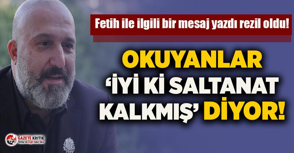 Bu da Fatih Sultan Mehmet'i bilmeyen Osmanlı...