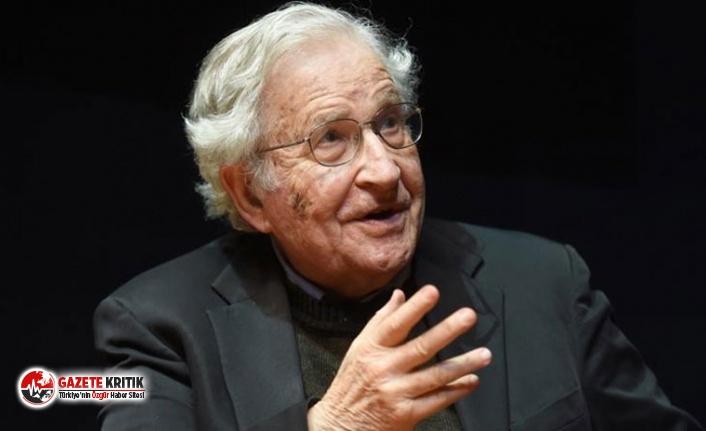 """Chomsky: ABD'nin """"megaloman sosyopat""""..."""