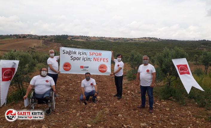 CHP Denizli Örgütü Avdan Termik Santralini protesto etti!