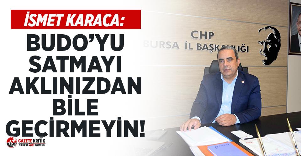 """CHP İl Başkanı Karaca: """"Her zarar eden birim..."""