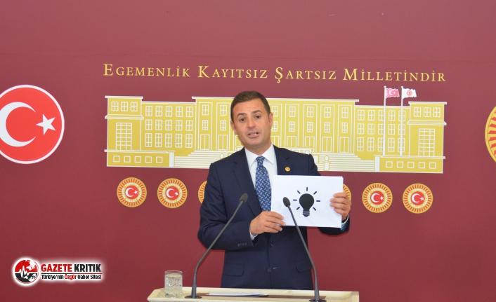 CHP'li Akın: Elektrik Değil, Faturası Çarpıyor!