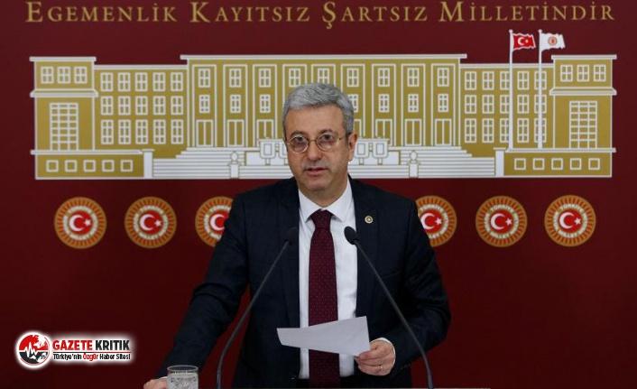 CHP'li Antmen:Mersin Saray'dan değil Mersin'den...