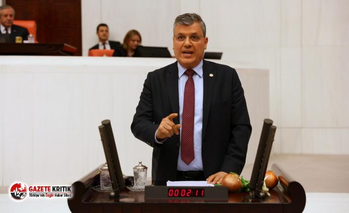 """CHP'li Barut:""""Kararnameyi çıkartın, öğretmenlerimiz..."""