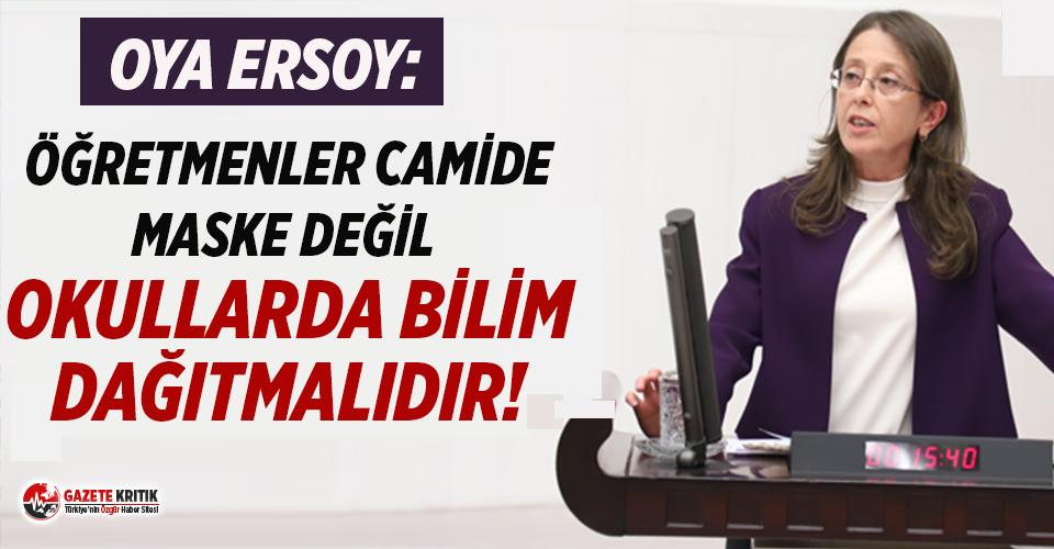 CHP'li Ersoy: Bu ülkede diyanetin tavsiyelerine...
