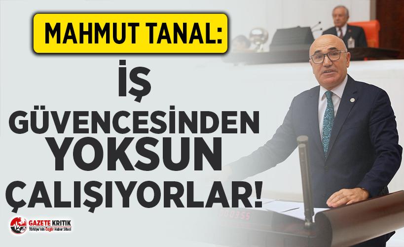 CHP'li Tanal sözleşme mağduru özel öğretmenler...